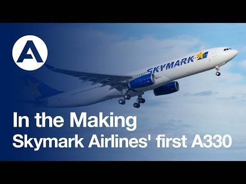 "The ""making of..."" Skymark Airlines' first A330"