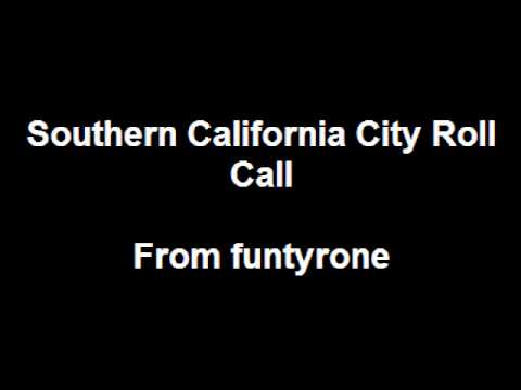 funtyrone's city rollcall volume 3 (update to so cal) and arizona