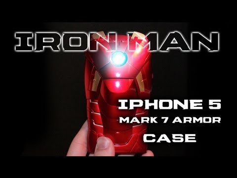 Mark Vii Iron Man Iphone Iron Man Iphone 5 Mark 7 Led