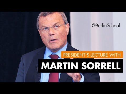 Sir Martin Sorrell Berlin School of Creative Leadership President's Lecture