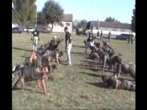 Kapap en la Agrupacion de Comandos Anfibios