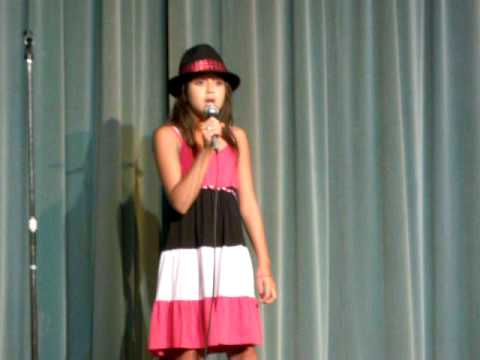 Hannah W. If I ain't got you. Southwest Middle School 2009 Talent Show/ Alicia Keys.