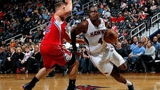 Paul Millsap Powers the Hawks Over the Clippers with 25 points