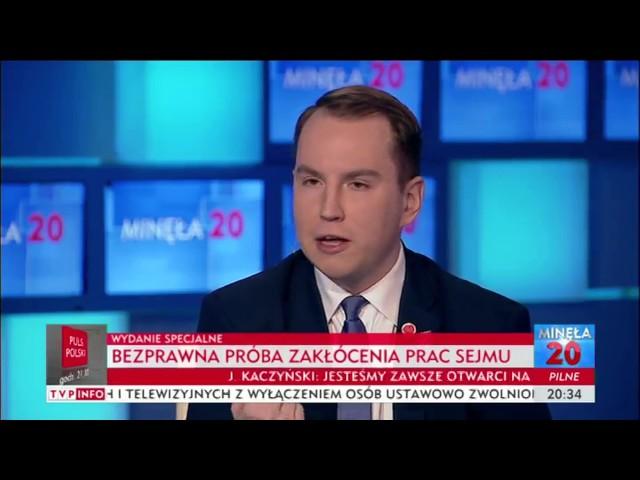 """Andruszkiewicz: """"Poseł Szczerba robi z siebie męczennika za 12 tys. złotych"""""""