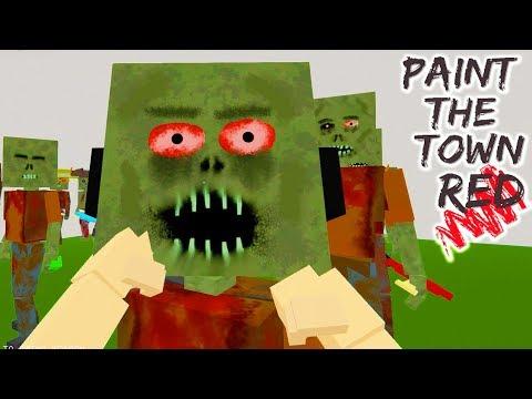 КРАСНЫЕ ГЛАЗА ► Paint the Town Red - НОВЫЕ СКИНЫ ОБЗОР КАРТ (96 серия)