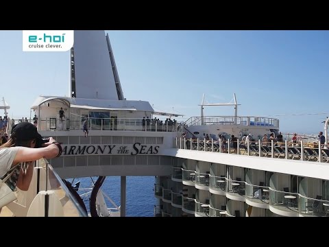 Entertainment an Bord der Harmony of the Seas - e-hoi