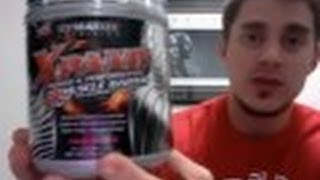Dymatize Xpand 2X Pre-Workout Supplement Review - MassiveJoes.com RAW Review Expand 2 X