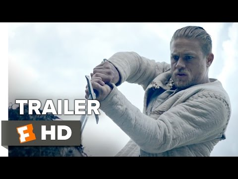 King Arthur: Legend Of The Sword Official Comic-Con Trailer (2017) - Charlie Hunnam Movie