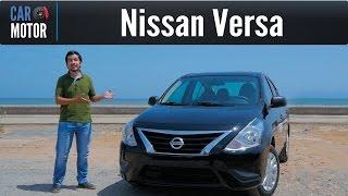 Nissan Versa 2017 - Confort y muchisimo espacio