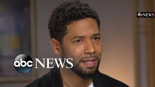 Jussie Smollett tells ABC News' Robin Roberts he's 'pissed off' after vicious attack | GMA