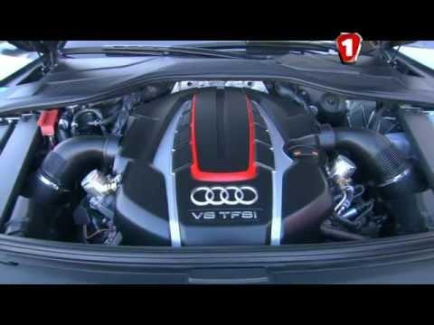 Тест-драйв - Audi S8