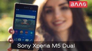 Видео-обзор смартфона Sony Xperia M5 Dual