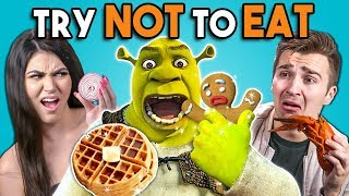 Try Not To Eat - Shrek Foods | People vs. Food