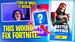 This *ONE* Change Can FIX Fortnite! Feat. SypherPK