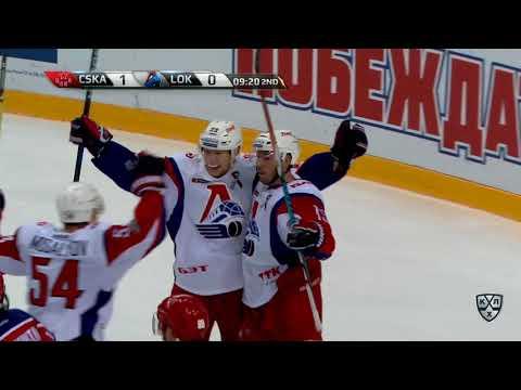 Lokomotiv 3 CSKA 2 OT, 21 October 2017 Highlights