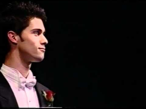 2003: David Hansen, countertenor. Finals Concert of the Australian Singing Competition.