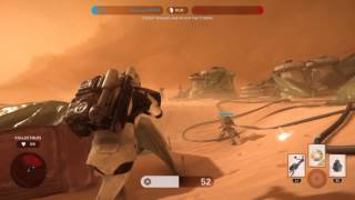 Star Wars Battlefront |  Battle on Tatooine as an Imperial Sandtrooper