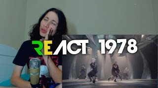 React 1978 EXO Wolf Music Video Korean ver