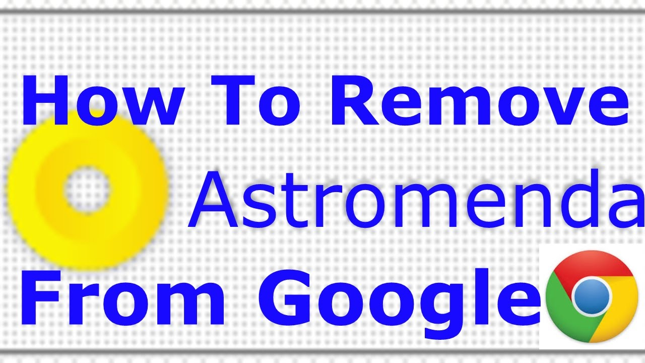 how to remove add from google chrome