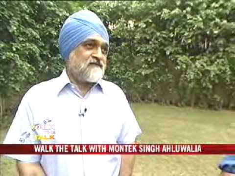 Walk The Talk: Montek Singh Ahluwalia