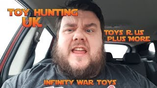Toy Hunt Vlog - Toys R Us Closing Down Sale - Avengers Infinity War Toys + More!!