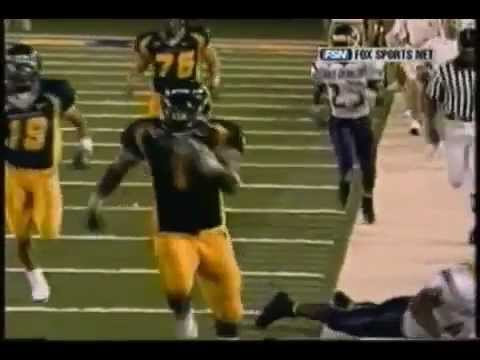 Kay Jay Harris Breaks Big East Rushing Record -- 337 Yards (2004)