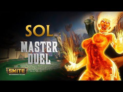 SMITE! Sol, El clasico doble lifesteal balanced! Master Duel S5 #2