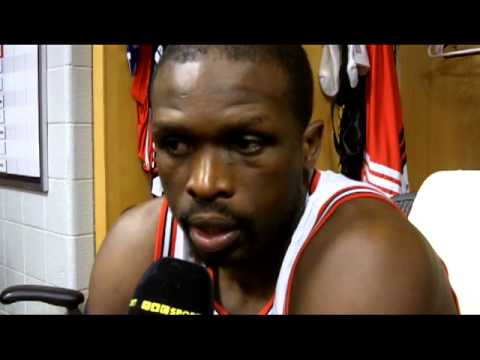 Luol Deng keeps it serious