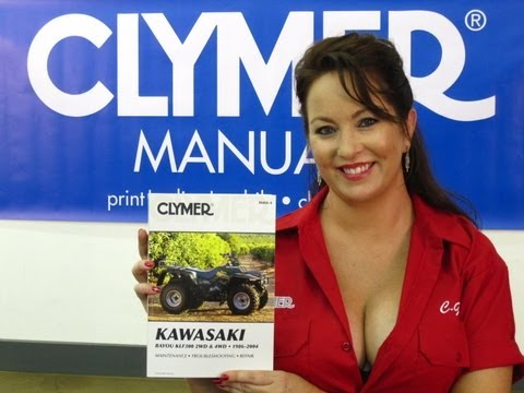 Clymer Manuals Kawasaki Bayou Manual KLF300 Manual KLF Manual Kawasaki ATV Manual Video