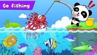 Ajude nosso amiguinho a pescar peixes - Vídeo educativo para crianças - app jogo infantil