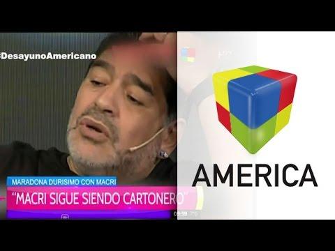 Maradona descargó su fanatismo K con Víctor Hugo y después optó por el silencio