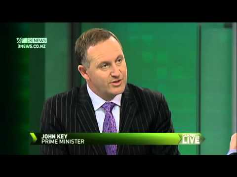 John Key discusses Dotcom saga