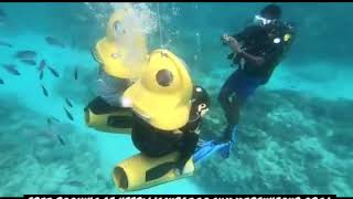 Scubadoo submarine scooter in Mauritius