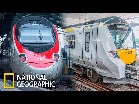 "Мегазаводы: Поезд ""Alstom"" / Speed Rail"