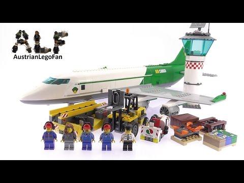 Lego City 60022 Cargo Terminal - Lego Speed Build Review