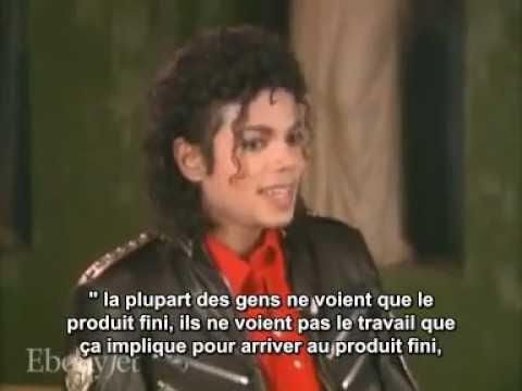 Michael Jackson - EbonyJet Interview 1987 - VOSTFR