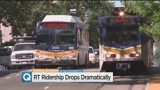 Sacramento Regional Transit Fighting Declining Ridership