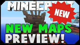 BRAND NEW UPDATE + MAPS PREVIEW! ( Hypixel Skywars )