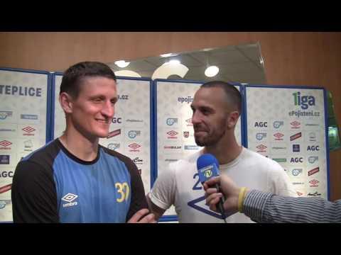 Dvojrozhovor před utkáním s Jabloncem (16.5.2017)