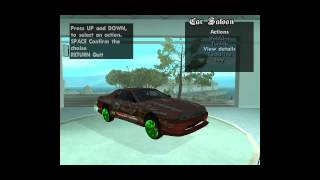 San Andreas Car Saloon Mod (CLEO)