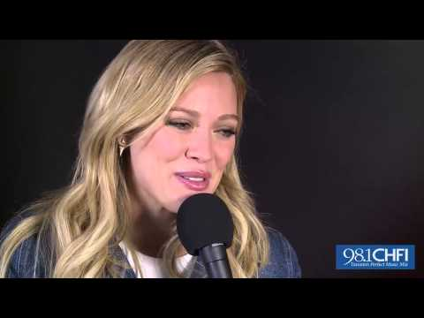 Cory Kimm chats with Hilary Duff