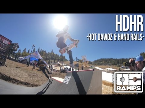 HDHR Big Bear and OC Ramps Mini Ramp - skate and snowboard event