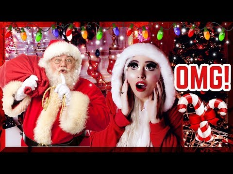SANTA CLAUS WAS INSIDE MY HOUSE!! (I FREAKED OUT)