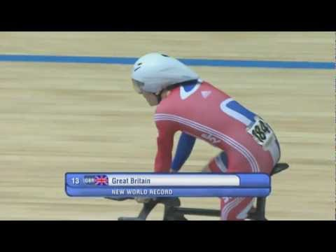 NEWS World Record DAY 1 - UCI Track Cycling World Championships 2012 - Melbourne