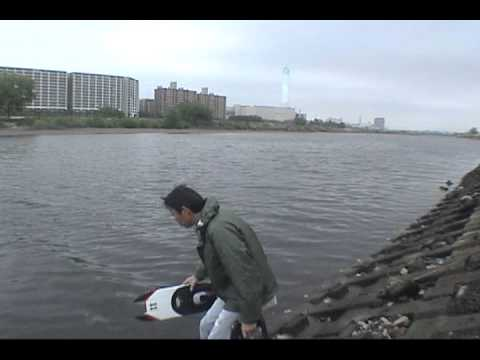 [RC][Boat][EP]Hornet Formula-1 Tunnel Hull & Apparition Offshore(broken motor)