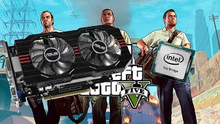 Geforse GTX 750 TI Intel G2010 2.80 GHz Grand Theft Auto V