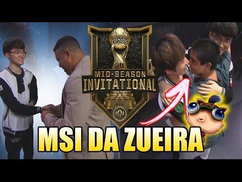 O ENCONTRO DE FAKER E RONALDO, TORCEDOR INVADINDO PALCO E SKT CAMPEÃ - MSI DA ZUEIRA #13 (FINAL) thumbnail