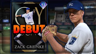'97' CY YOUNG ZACK GREINKE DEBUT !!! TOP 5 SP IN THE GAME RIGHT NOW !!!