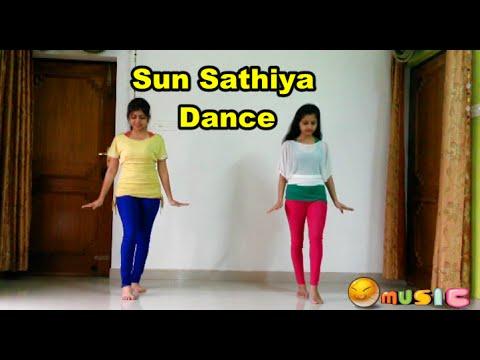 Sun Sathiya  Full Song | ABCD 2 | Dance Tutorial | Shweta Verma & Manvi Verma