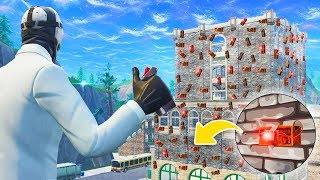 Blowing Up TILTED TOWERS With 10,000 C4! - Fortnite Battle Royale